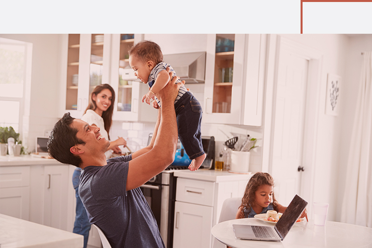 Consumer Lending Home Mortgage Family Kitchen